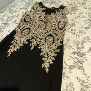 Never worn back midi dress